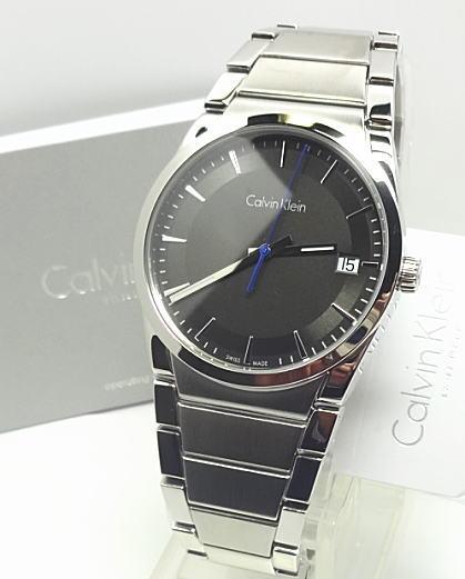 【あす楽対応】Calvin Klein カルバンクライン39mm メンズ スイス製  K6K31143 ブラック