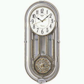 【あす楽対応】セイコー 掛時計 ウエーブシンフォニー 電波時計 AM227S