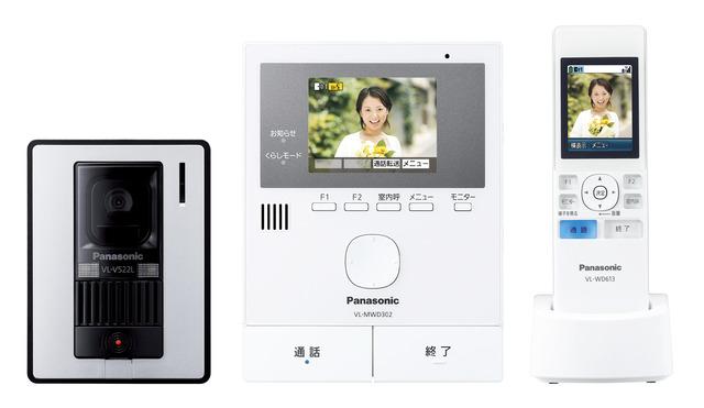 パナソニックワイヤレスモニター付テレビドアホンVL-SWD302KL
