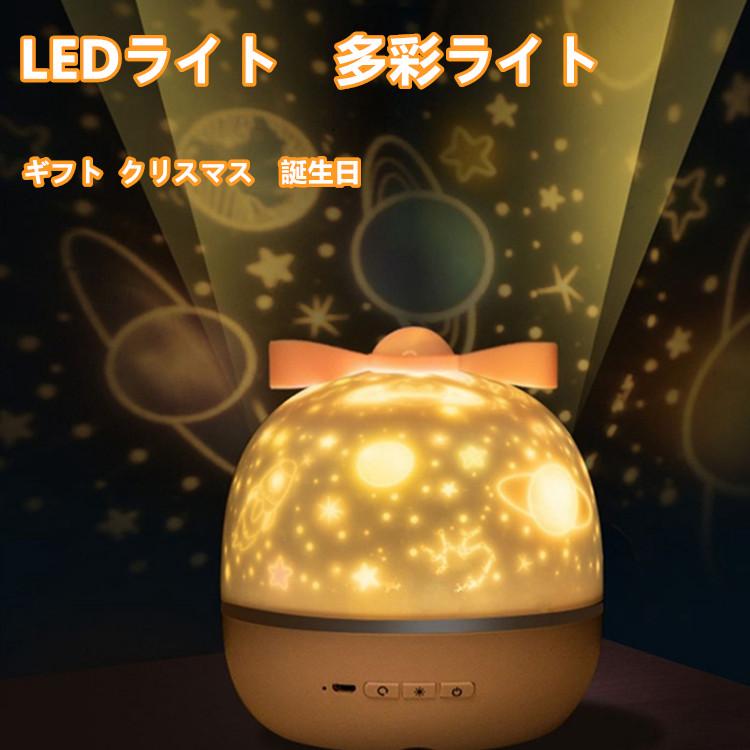 スタープロジェクターライト ベッドサイドランプ 投影ランプ LEDライト スピーカー 一台二役 USB充電タイプ ギフト 子供/家族/友達/恋人/パーティー プレゼント 可愛い クリスマス雰囲気 誕生日 送料無料