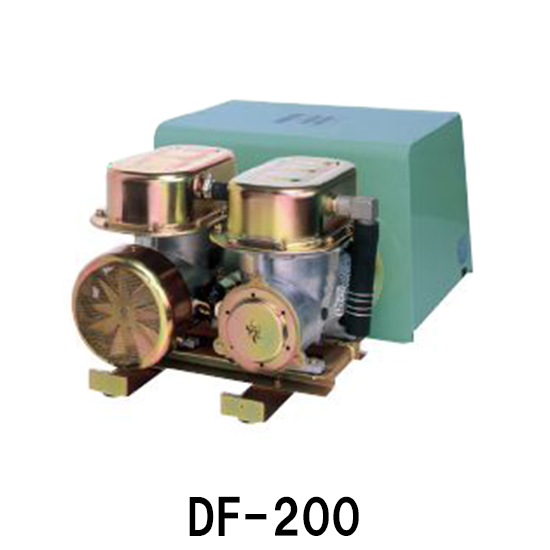 大晃 ダイアフラムブロアDF-200(100V) 【同梱不可 代引不可 送料無料 但、一部地域送料別途】【♭】