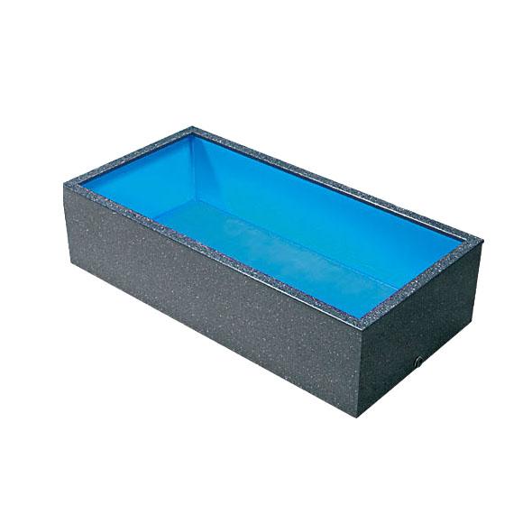 テクノ販売 FRP水槽 450M 水量 700L【代引不可 同梱不可 送料別途見積】【♭】
