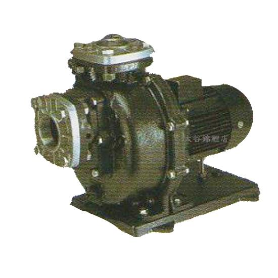 三相電機 自吸式ヒューガルポンプ 80PSPZ-37033B-E3 三相200v 60Hz メカニカルシールタイプ【代引不可 同梱不可 送料無料 北海道・沖縄・離島は別途】樹脂製 海水用 循環ポンプ