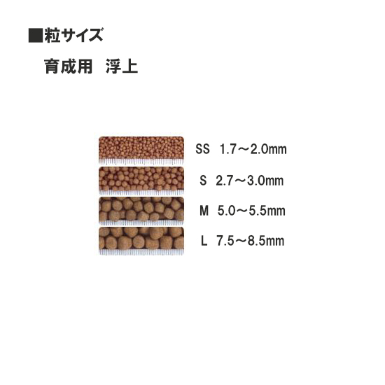 Point twice ☆ Saki Hikari growth M emerged for 5 kg