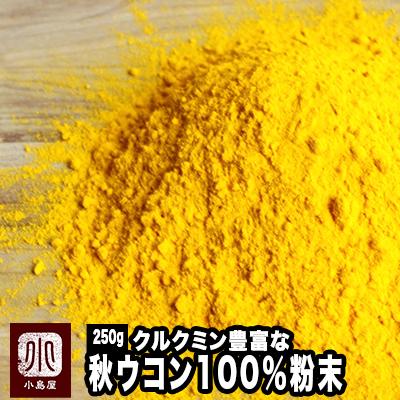 本場インド産のクルクミン豊富な極上秋ウコンを使用無添加 ご予約品 秋ウコン粉末 粉末状 至上 《250g》 《250g》本場インド産のクルクミン豊富な極上秋うこんを使用 無添加 アメ横