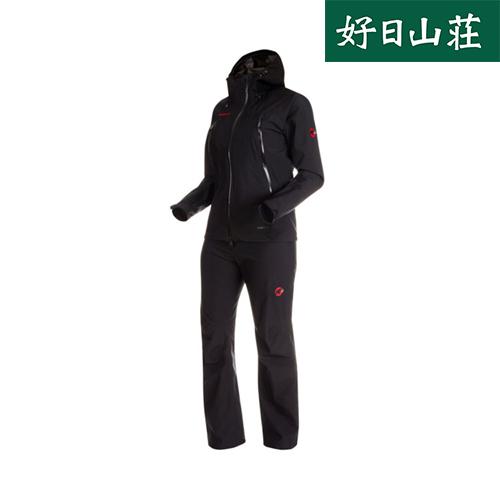 MAMMUT マムート CLIMATE Rain-Suit black-black1010-26561〔20SS〕 AF Women 100%品質保証 アウトレット