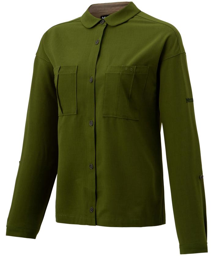 Marmot マーモット 国産品 クリアランス 四角友里コラボレーション Ws 上品 ウィメンズヤマシャツ Shirt TOWRJB77YY_LEF Yama