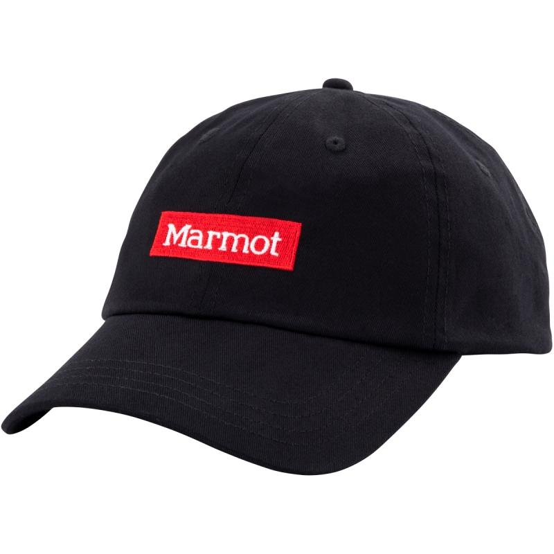 Marmot マーモット クリアランス ベースボールキャップ ユニセックス 訳あり品送料無料 BASEBALL 21SS CAP 特別セール品 TOARJC34_BK