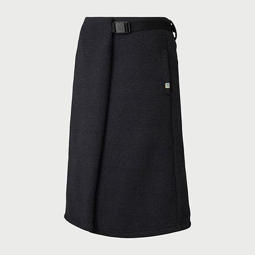 カリマー karrimor ジャーニー ウィメンズ ラップ スカート / ブラック品番:2481【送料無料】【2020/5/6 18:00~5/9 19:59】