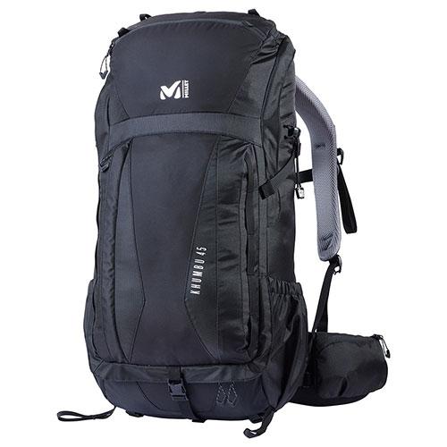 【送料無料】ミレー MILLET クンブ 45 / BLACK - NOIR品番:MIS0642