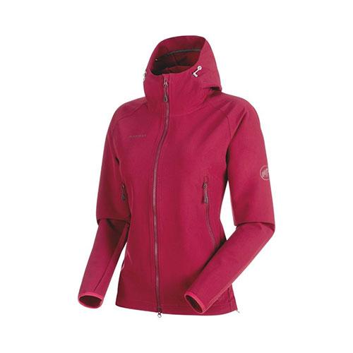 【クーポン100円OFF】マムート MAMMUT Runbold Trail SO Hooded Jacket AF Women / beet品番:1011-23011【送料無料】【ワンダフルデイ 2019/03/01 00:00~23:59】