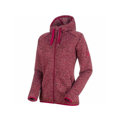 マムート MAMMUT Chamuera ML Hooded Jacket Women / dark beet 品番:1014-24971【送料無料】