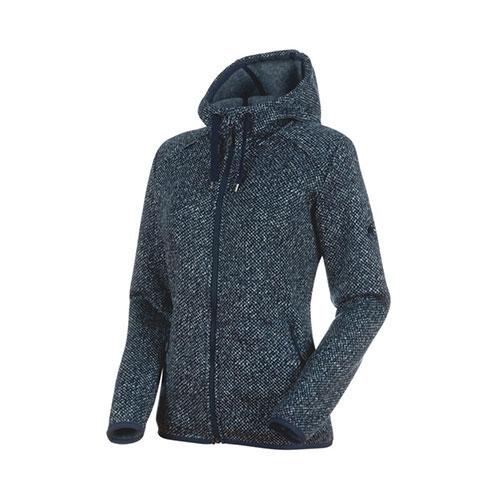 マムート MAMMUT Chamuera ML Hooded Jacket Women / marine 品番:1014-24971【送料無料】