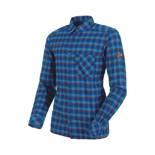 【1000円OFFクーポン】マムート MAMMUT Belluno Tour Longsleeve Shirt Men ultramarine-crumble 品番:1030-02600【送料無料】 cpmmt outlet【2019/10/4 20:00~10/14 9:59】