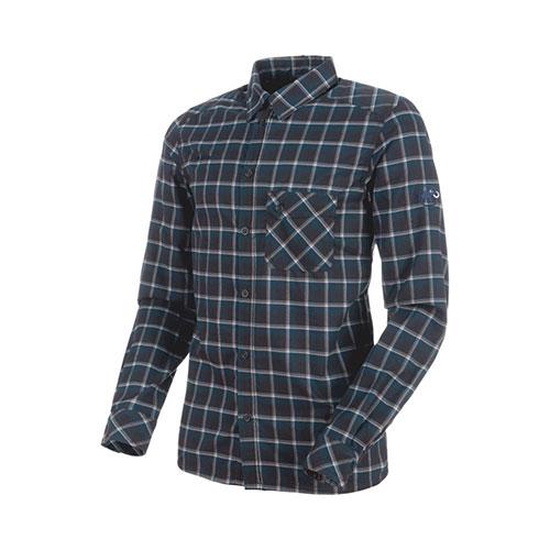 マムート MAMMUT Belluno Tour Longsleeve Shirt Men / black-marine品番:1030-02600【送料無料】