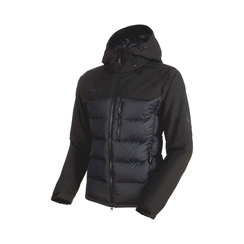 【クーポン200円OFF】マムート MAMMUT Rime Pro IN Hybrid Hooded Jacket Men / black品番:1013-00640【送料無料】【2019/01/11 09:59まで】