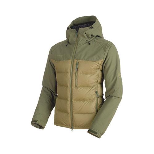 【クーポン】マムート MAMMUT Rime Pro IN Hybrid Hooded Jacket Men / clover-dark clover 品番:1013-00640【送料無料】【2019/04/09 20:00~04/16 01:59】