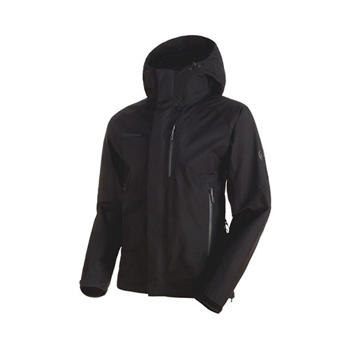 【クーポン】マムート MAMMUT Ayako Pro HS Hooded Jacket Men / black 品番:1010-26740【送料無料】【2019/04/26 10:00~04/30 23:59】