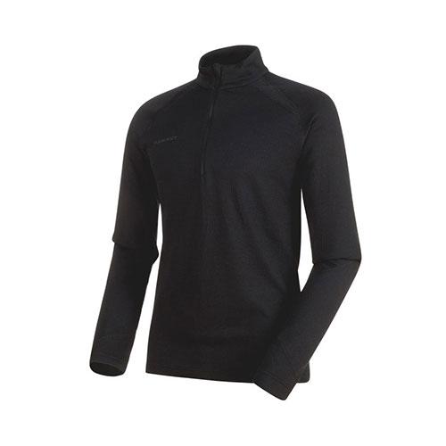 【クーポン】マムート MAMMUT PERFORMANCE Thermal Zip long Sleeve Men / phantom 品番:1016-00090【送料無料】【2019/04/09 20:00~04/16 01:59】