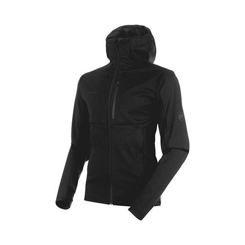 【クーポン400円OFF】マムート MAMMUT Ultimate V SO Hooded Jacket AF Men / black-black品番:1011-00351【送料無料】【ワンダフルデイ 2019/03/01 00:00~23:59】