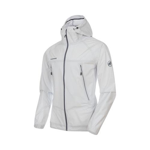 【送料無料】マムート MAMMUT Masao Light HS Hooded Jacket AF Men / white品番:1010-27100