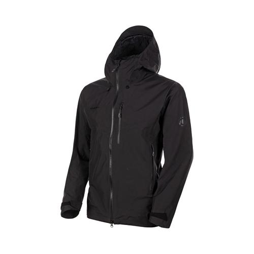 【クーポン3000円OFF】マムート MAMMUT Ayako Pro HS Hooded Jacket AF Men / black品番:1010-27550【送料無料】【2020/5/5 00:00~5/9 19:59】