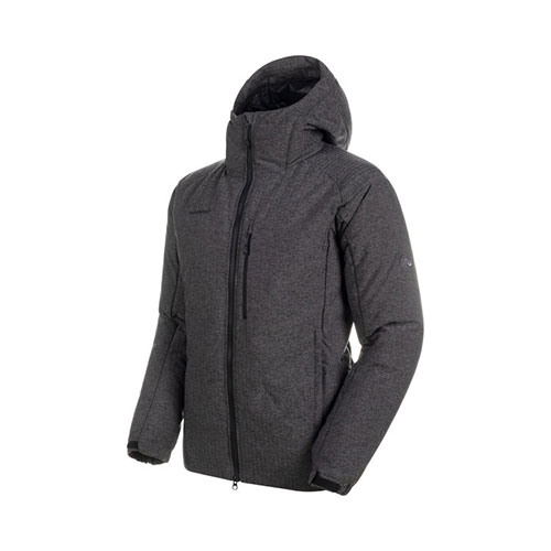 MAMMUT  【エントリーで最大19倍】【送料無料】マムート MAMMUT Whitehorn Pro IN Hooded Jacket AF Men / black melange品番:1013-01330〔19FW〕〔19fwclr〕【2020/02/21 10:00~2020/02/25 23:59】