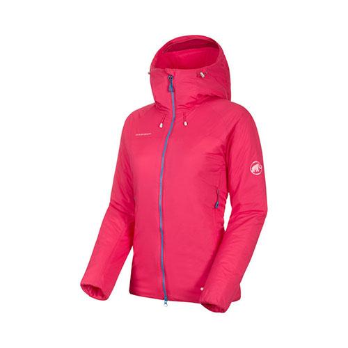 【クーポン1500円OFF】マムート MAMMUT Rime IN Flex Hooded Jacket AF Women / dragon fruit品番:1013-00760【送料無料】【2020/5/5 00:00~5/9 19:59】