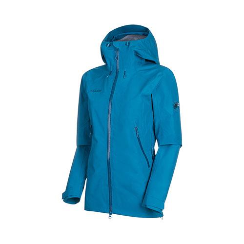 マムート MAMMUT Ridge HS Hooded Jacket Women / sapphire品番:1010-21861【送料無料】【2020/5/21 00:00~5/23 23:59】