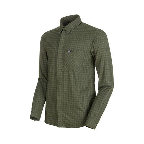 【クーポン500円OFF】マムート MAMMUT Winter Longsleeve Shirt Men / iguana-dark iguana品番:1015-00520【送料無料】【2020/5/5 00:00~5/9 19:59】