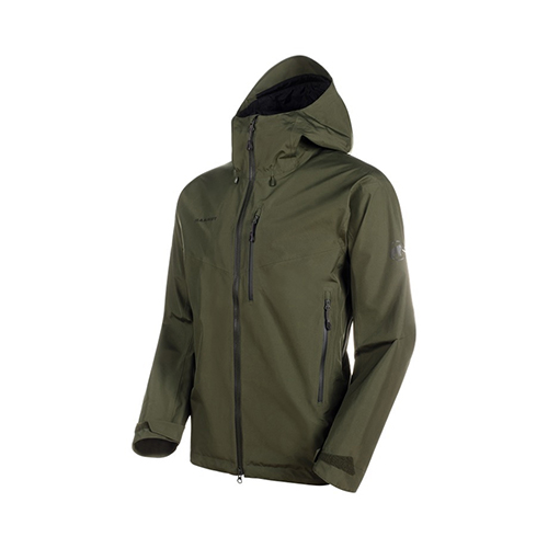 マムート MAMMUT Ayako Pro HS Hooded Jacket AF Men / iguana品番:1010-27550【送料無料】【2020/5/21 00:00~5/23 23:59】