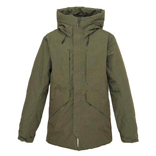 マムート MAMMUT Seon HS Thermo Hooded Coat Men / iguana品番:1010-26721【送料無料】【2020/5/6 18:00~5/9 19:59】