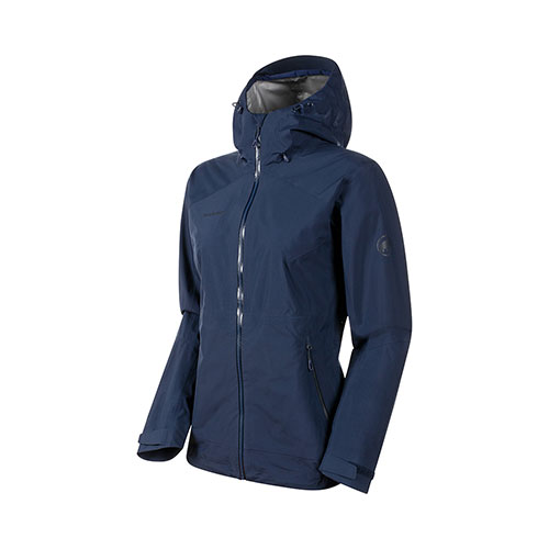 【送料無料】マムート MAMMUT Convey Tour HS Hooded Jacket Women / peacoat品番:1010-27850【2020/5/21 00:00~5/23 23:59】
