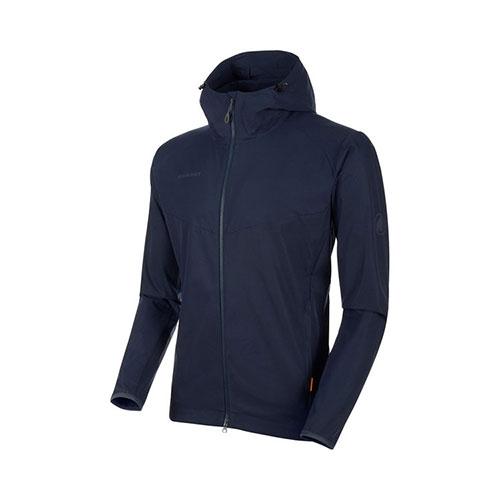 【クーポン500円OFF】【送料無料】マムート MAMMUT GRANITE SO Hooded Jacket AF Men / marine品番:1011-00321【2020/5/5 00:00~5/9 19:59】