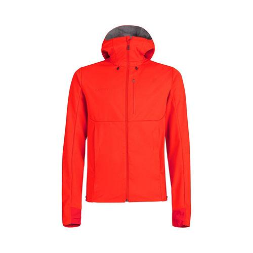 【クーポン3000円OFF】【送料無料】マムート MAMMUT Ultimate V SO Hooded Jacket Men / spicy-titanium melange品番:1011-00061【2020/5/5 00:00~5/9 19:59】