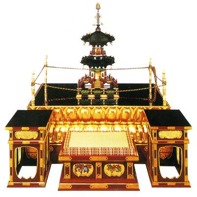 【寺院用】 大壇・護摩壇 伝流型向壇巾4尺(120cm) 別上品(カシュー塗)【配送区分:h】宅配便のみ・一部地域除き||送料無料||