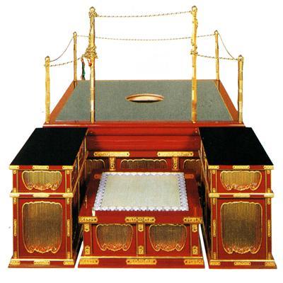 略式型大壇・護摩壇 向壇巾 4尺(120cm)