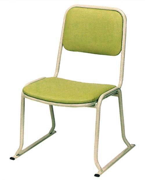 【寺用・寺院用/在家用/和室設備】本堂椅子(畳に使える和室/お座敷用チェア)W47×D49×H69座面高(座高)35(cm)[アルミ製] 背もたれ付き
