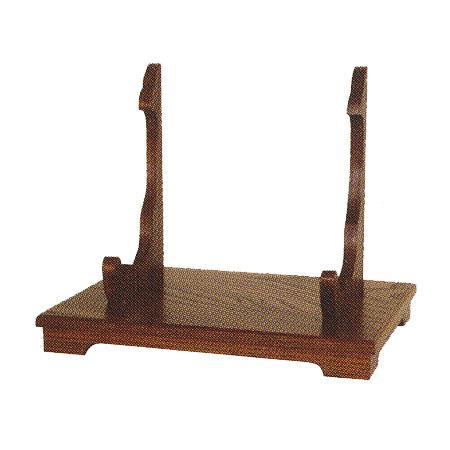 【日本製】写真立台 欅(スリ漆)幅33cm×奥行24cm×高さ26cm