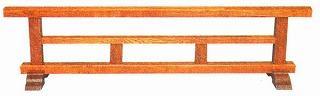 結界 木製栓製(せん/セン) 4尺【配送区分:i】大型送料 別途要(受注時にメール連絡)