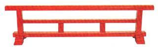 結界 木製(朱塗または黒塗)3尺【配送区分:i】大型送料 別途要(受注時にメール連絡)