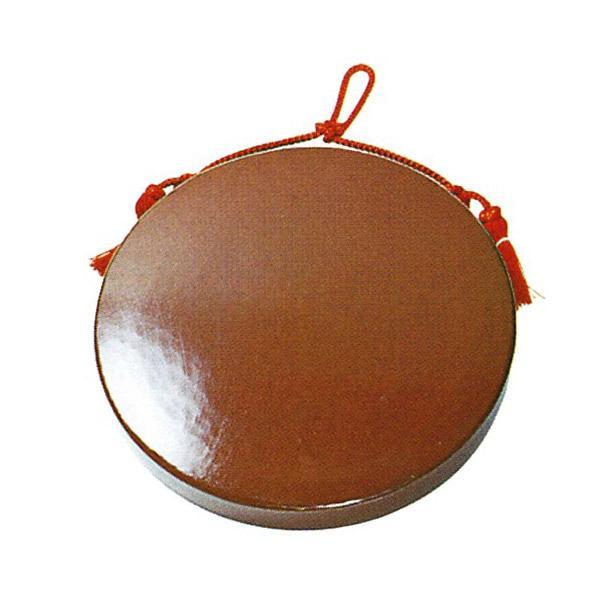 【日本製】銅鑼(どら) 重目(人絹朱紐付) 1尺