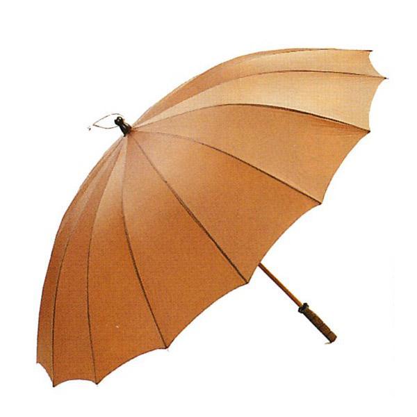 【送料無料】[日本製]ジャンボ傘(番傘型)[箱入り]骨16本 広げたときの直径:1m30cm