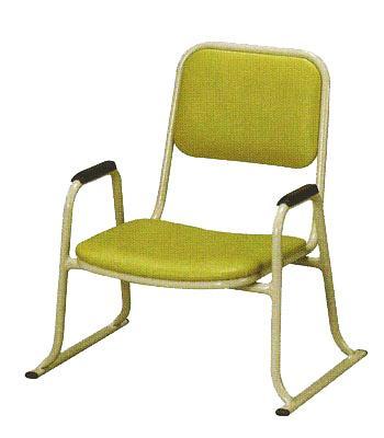 超熱 【寺用・寺院用/在家用/和室設備】本堂椅子(畳に使える和室/お座敷用チェア)幅53cm×奥行48cm×高さ59cm(座面高(座高)26cm)[アルミ製] 背もたれ付き・肘掛け付き本堂用椅子/アームチェア, NaturalBodyMaking:a144496c --- canoncity.azurewebsites.net