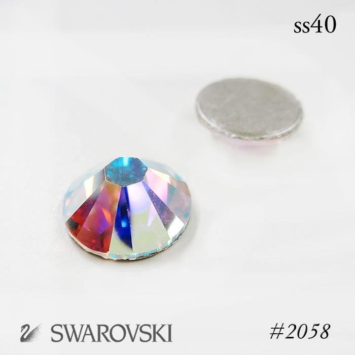Nanairo ビックスワロフ skiing:::AB Crystal-SS40 (8.5 mm diameter):::-grain