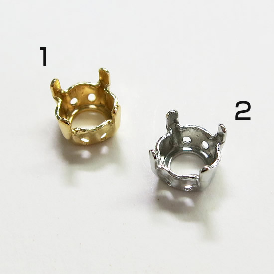 f8d83263f1 Swarovski 1028 (V-cut) for base (stone za)-SS29 (approx. 6.2 mm)-SS39  (approximately 8.3 mm) for gold and silver (1) *.