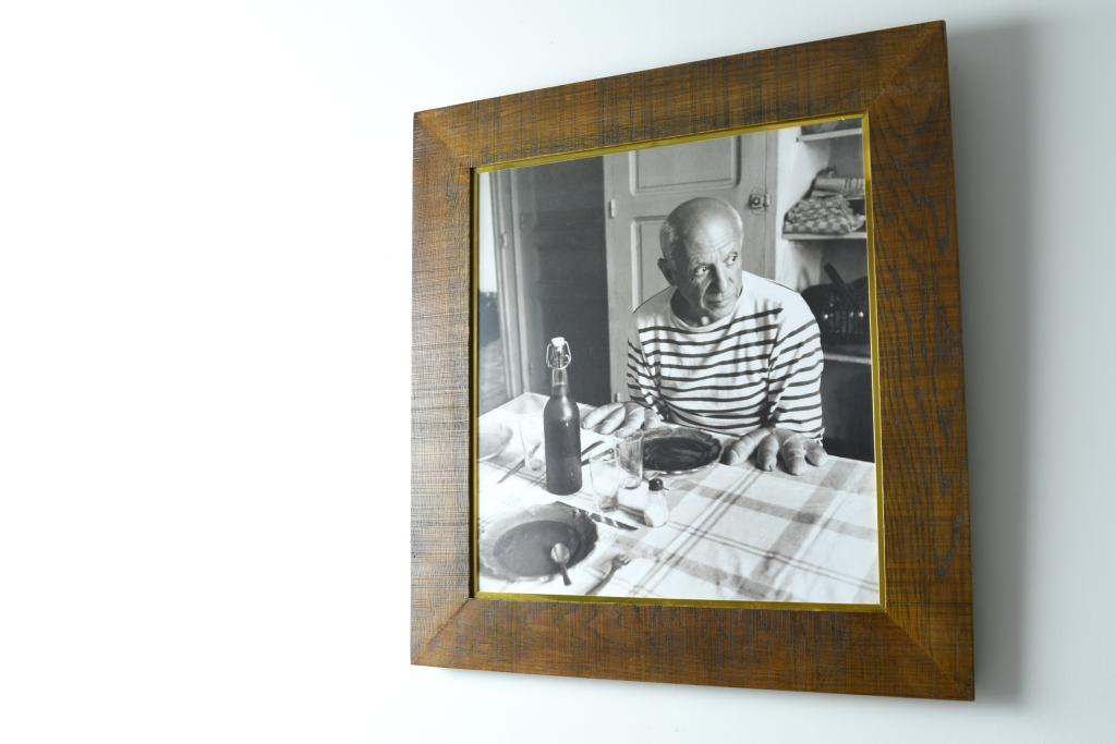 オリジナル額縁「ドアノー - ピカソ肖像」
