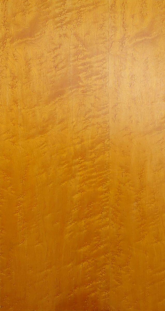 突板 練付 化粧 合板 木材 天然木突板合板 バーズアイ メープル イエロー色塗装 [受注生産] 2.5mm x 915mm x 1820mm