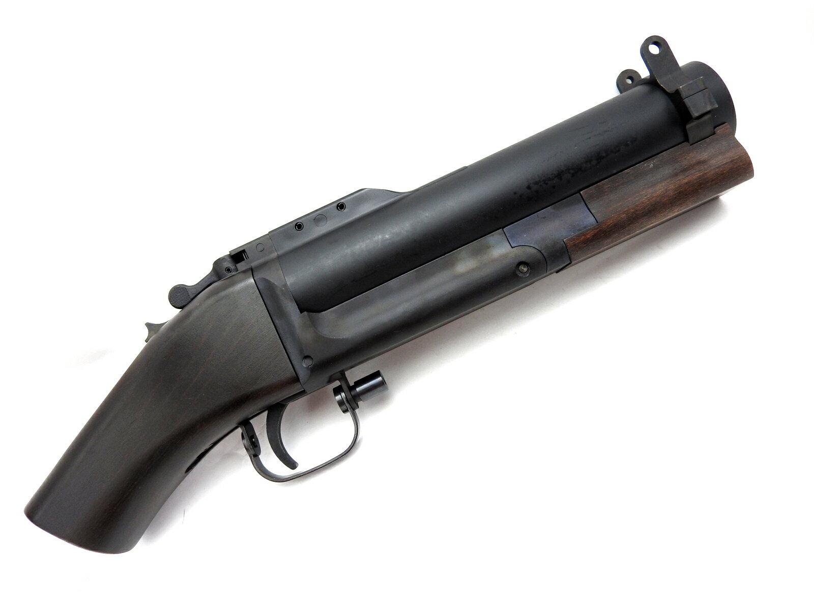 【エントリー全会員P10倍】 CAW M79 ソウドオフ ソードオフ SWAD-OFF 40mm モスカート使用 木製グリップ 18歳以上用