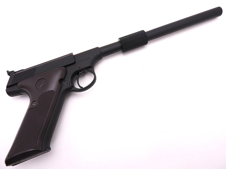 CAW MGC コルト ウッズマン ショートタイプカスタム スリムサイレンサー付 発火 モデルガン ワイルド7 新品